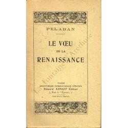 Le vœu de la renaissance