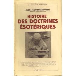 Histoire des doctrines...