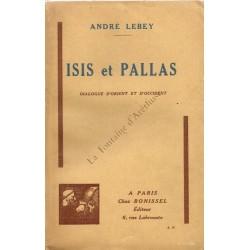 Isis et Pallas. Dialogue...