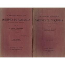 Martinès de Pasqually, un...
