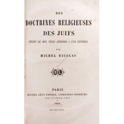 Des doctrines religieuses...