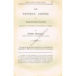 Les Papyrus coptes du Musée...
