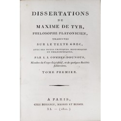 Dissertations de Maxime de...