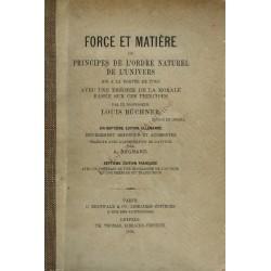 Force et Matière ou...