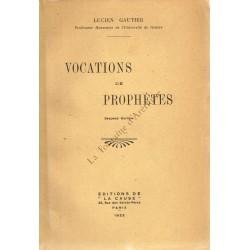 Vocations de prophètes