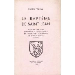 Le baptême de Saint Jean....