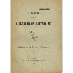 L'occultisme littéraire