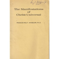 The Manifestations of...