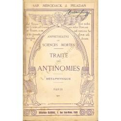Traité des antinomies....