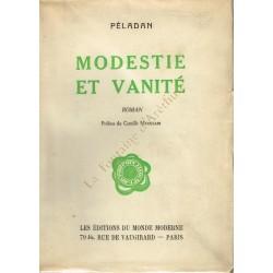 Modestie et vanité