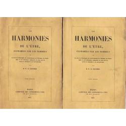 Les harmonies de l'être...