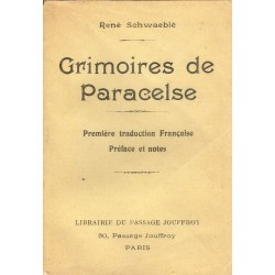 Grimoires de Paracelse