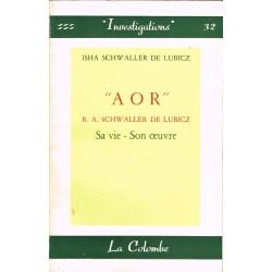 « A O R » R. A. SCHWALLER...