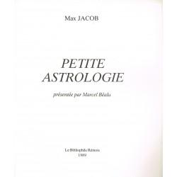Petite Astrologie présentée...