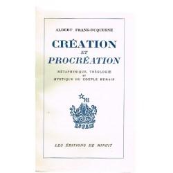 Création et procréation....