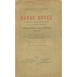 Barbe Buvée en religion,...