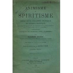 Animisme et spiritisme....