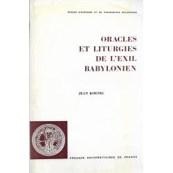 Oracles et liturgies de...