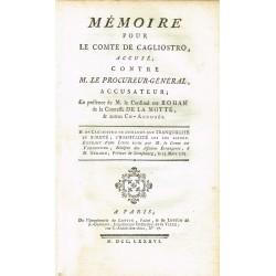 Mémoire pour le Comte de...
