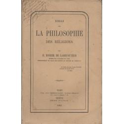 Essai sur la Philosophie...