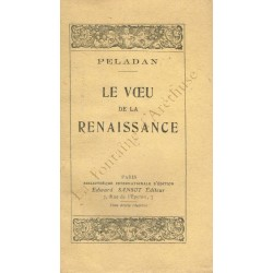 Le voeu de la Renaissance