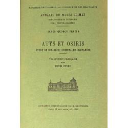 Atys et Osiris. Etude de...