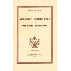 Autorité spirituelle et...