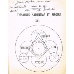 Thesaurus Sapientiae et...