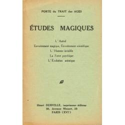 Etudes Magiques - L'Astral...