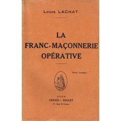 La Franc-Maçonnerie opérative