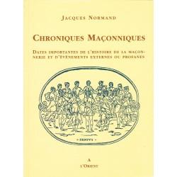Chroniques Maçonniques....