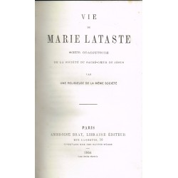 Vie De Marie Lataste...,...